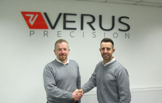 Jon Stabler Joins Verus Precision UK
