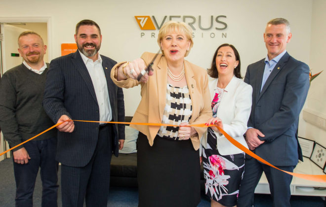 Minister Humphries Visit - Launch - Verus Metrology Partners