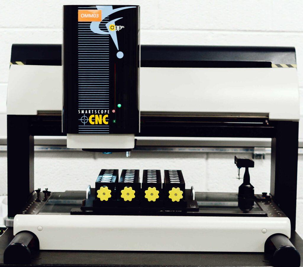 Verus Metrology Bespoke Inspection Fixture on a CNC 500 Machine