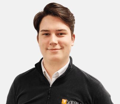 Jack Broome Verus Apprentice Metrology Engineer