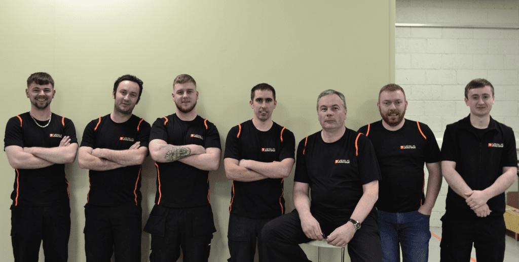 Verus' Manufacturing Team