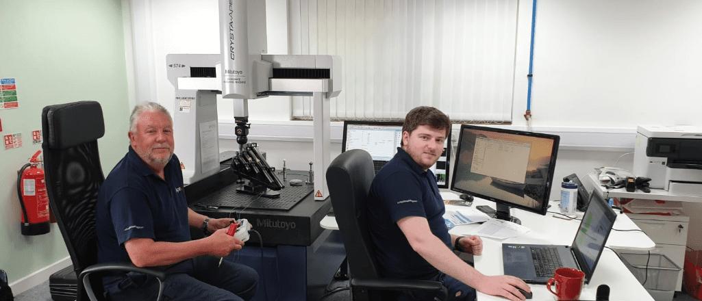 Apex Metrology Performing a CMM Calibration at Verus Metrology UK