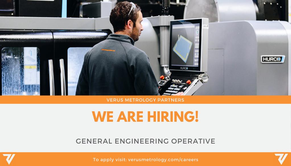 Career Opportunity at Verus Metrology