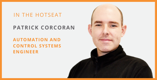 Hotseat Interview - Patrick Corcoran Feature Photo