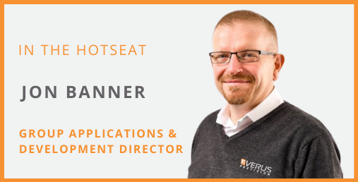 8 Questions Series - Jon Banner - Verus Group Applications & Development Director