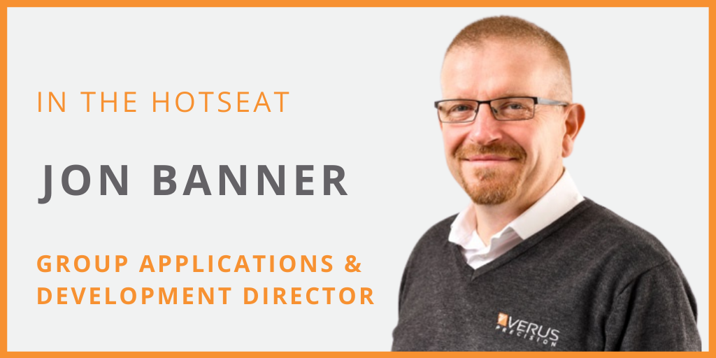 8 Questions Series: Jon Banner - Verus Group Applications and Development Director