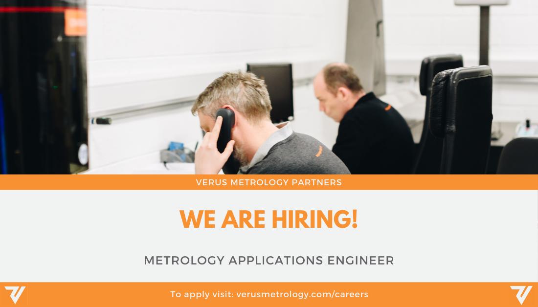 Career Opportunity: Metrology Applications Engineer - Verus Metrology Partners