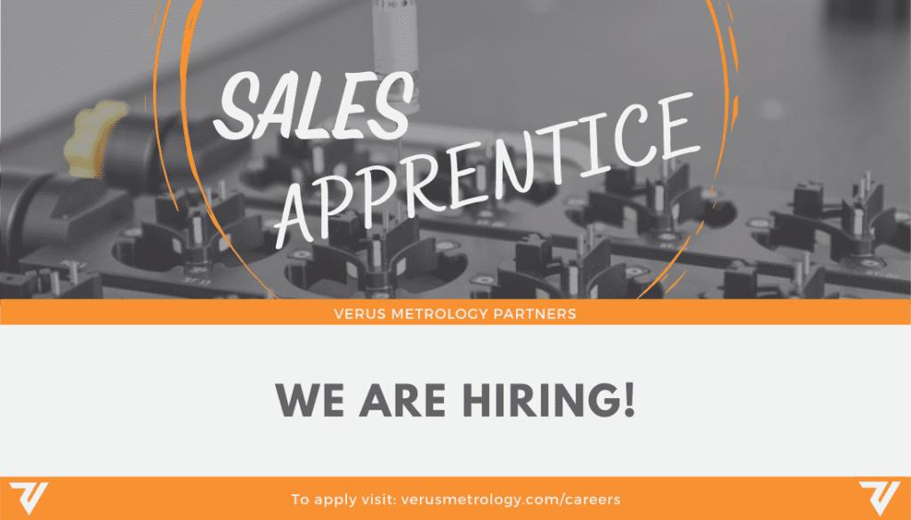 Career Opportunity: Sales Apprentice Business Development at Verus Metrology